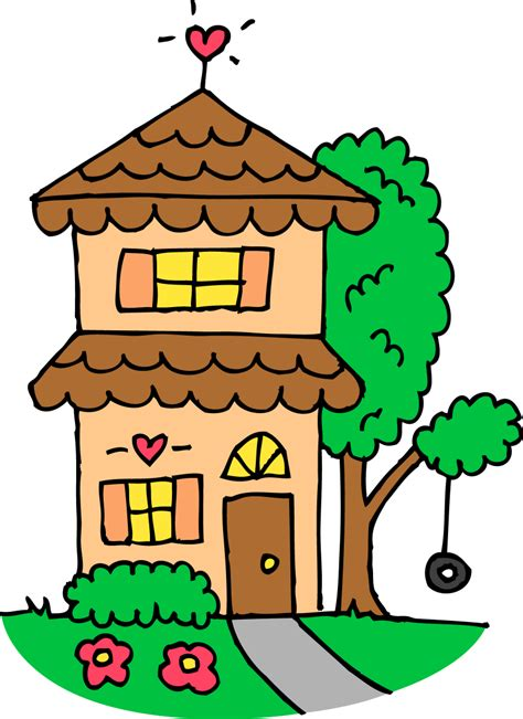 The Houes by Cute House Clipart Gclipart Com