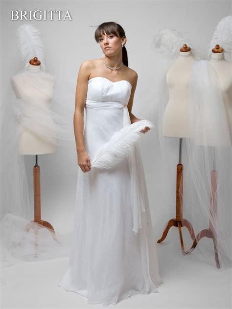 hochzeitskleid chiffon brautkleid brigitta schlichtes hochzeitskleid chiffon
