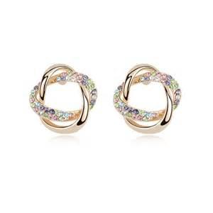 whispers earrings 3 pack austrian earrings ear whispers color alex nld