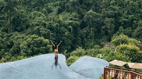 hanging gardens bali world s best swimming pool hanging gardens of bali resort