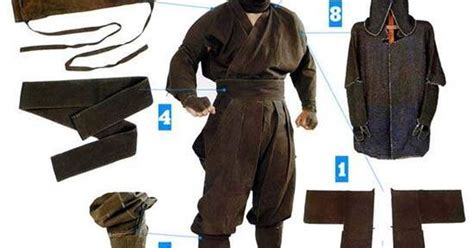 ninja uniform pattern ancient ninja suit armor head to toe ninja gear