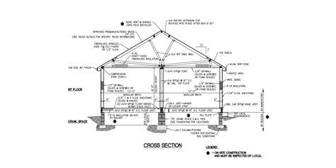 cross section detail 2 story house cross section details sketch coloring page