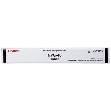 Canon Npg 46 Color Original canon npg 46 black toner cartridge genuine gpr 31 inkdepot