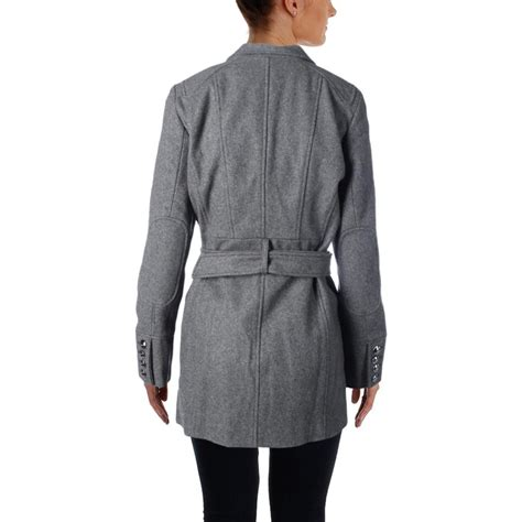 Outer Wear by Kenneth Cole New York 9402 Womens Wool Asymmetric