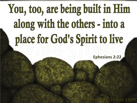A Place For God Ephesians 2 22 Verse Of The Day
