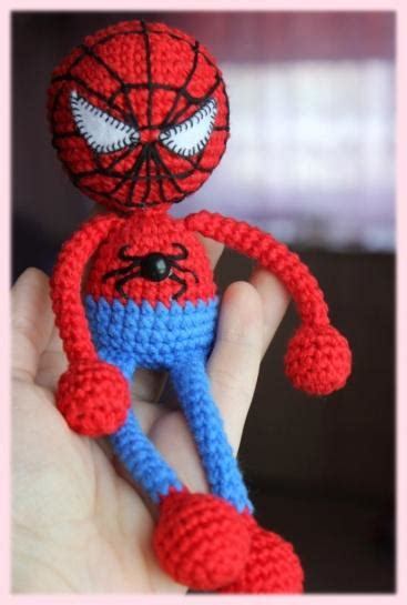 pattern for crochet spiderman doll amigurumi spiderman crochet pattern amigurumi today