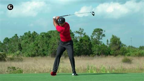 Golf Swing Tiger Woods by The Miracle Of Tiger Woods Golf Swing Golf Digest