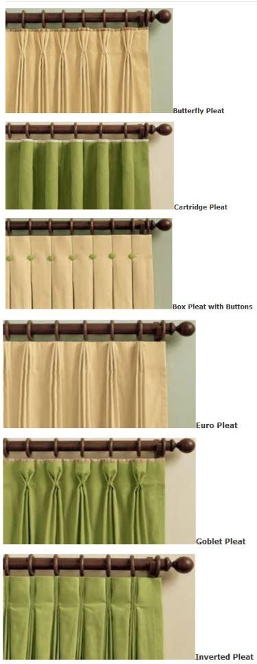 different curtain pleats favorite drapery pleats alcher interiors inc