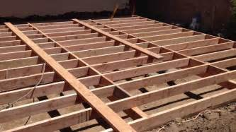 floor joist installation and blocking youtube