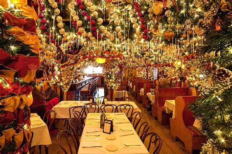 rolfs nyc this nyc restaurant puts up 60 000 worth of christmas