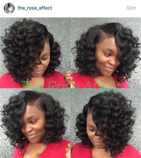 bob weaves with crochet braids coiffure femme noire lorsque vous regardez les coiffures