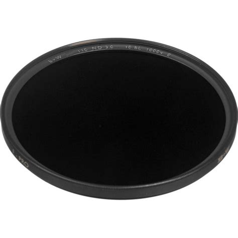 B W 55mm 3 0 Nd 110 Filter b w 55mm sc 110 solid neutral density 3 0 filter 65