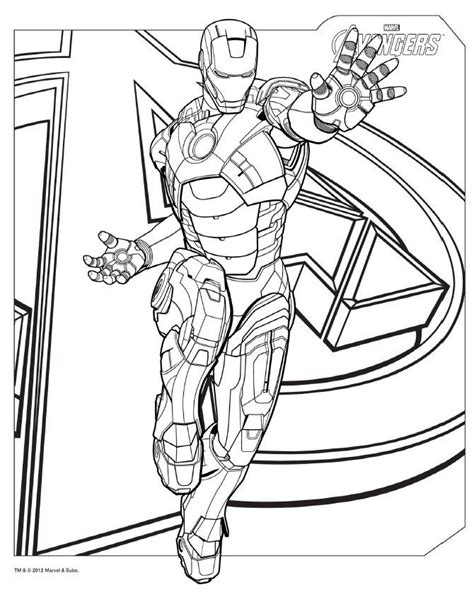 avengers assemble coloring pages download avengers coloring pages here ironman