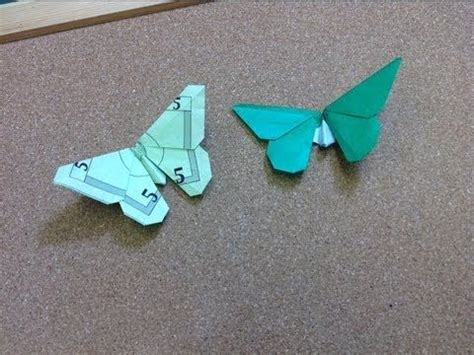 Origami Butterfly Money - money origami origami butterfly and origami on