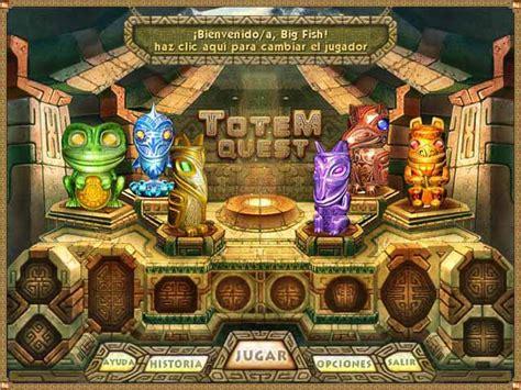 juegos de puzzle y rompecabezas gratis big fish games 1 totem quest juego captura de pantalla