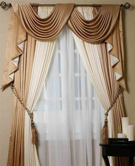 curtain scarves sheer drapery ideas