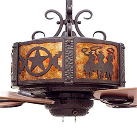 western and ranch lighting rustic lighting fans by