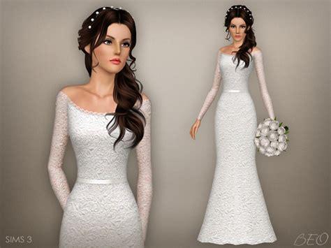 sims 3 wedding hair beo s wedding dress 47