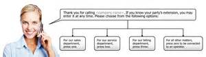 Auto Attendant Script Template by Voice Prompts And Voice Talent Gm Voices
