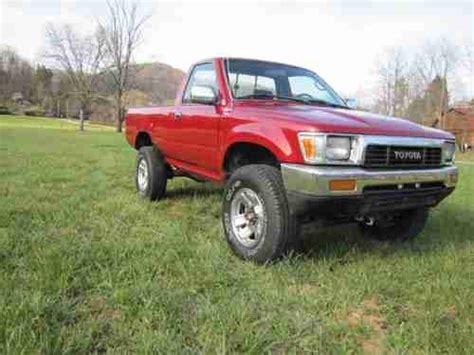 1993 Toyota 4x4 Buy Used 1993 Toyota 4x4 Truck 3 0 V6 M T Alum Wheels
