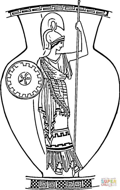 vasi greci da colorare vaso greco da colorare