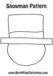 snowman hat template best photos of snowman hat template printable printable