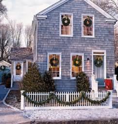 wreaths in every window seasonal pinterest