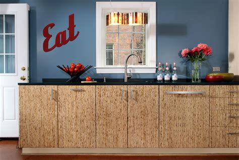 upcycled kitchen cabinets upcycled kitchen in arlington va contemporary kitchen