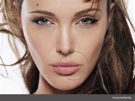 mengubah bentuk wajah  photoshop tomy meilando blog