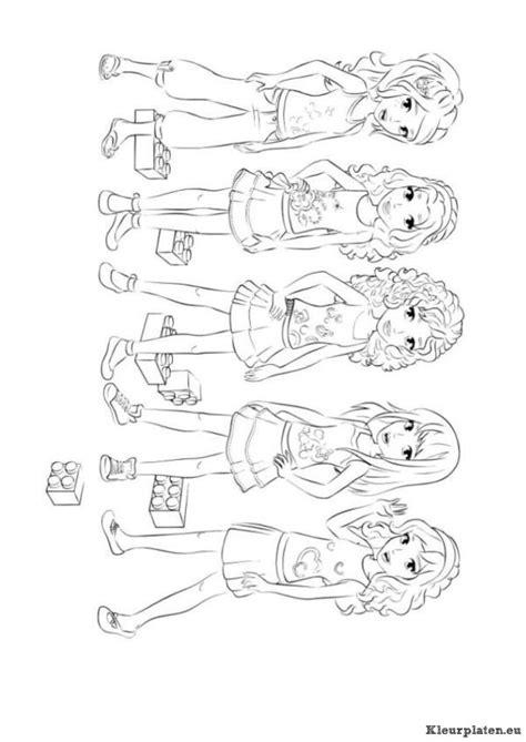 lego friends jungle coloring pages lego friends kleurplaat 168395 kleurplaat