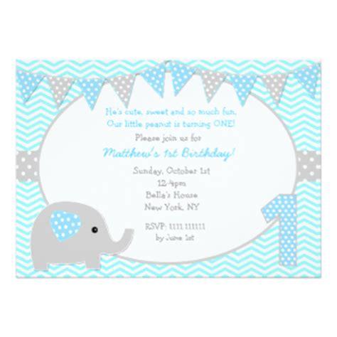 elephant birthday card template elephant invitations announcements zazzle co uk