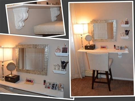 Vanity Shelves Bedroom diy vanity shelf diy makeup vanity my future bedroom