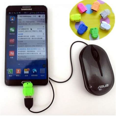 Usb Otg Android colorful micro usb otg adapters android otg supported
