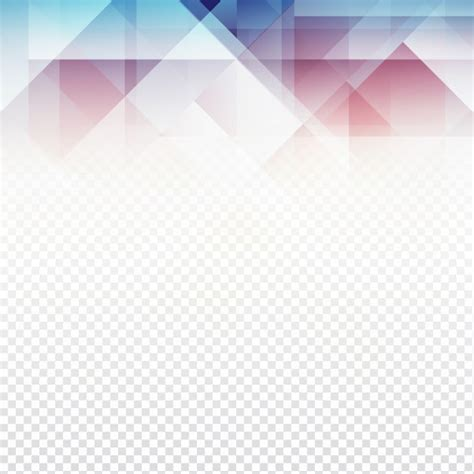 Modern polygonal design on transparent background Vector