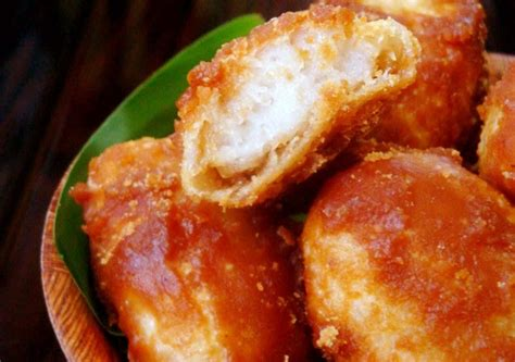 cara membuat kue apem putih resep dan cara membuat kue gemblong ketan putih gula merah