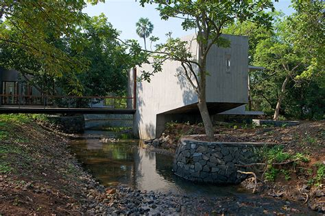 steel bridge stream connects private public areas home