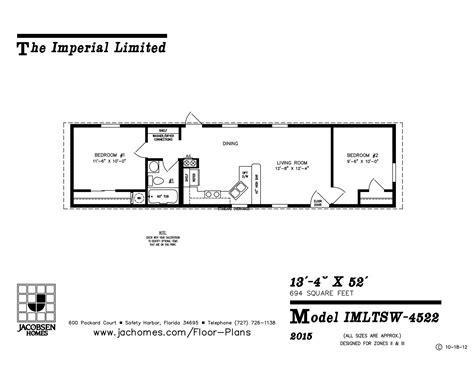 imlt 46412b mobile home floor plan ocala custom homes imlt 4522 mobile home floor plan ocala custom homes
