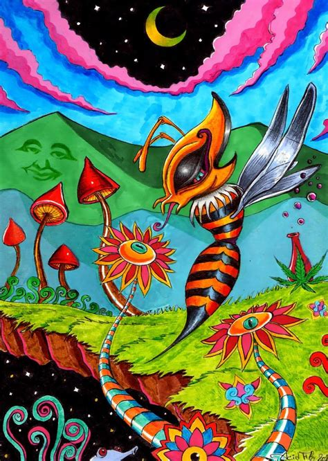 9 Drawings On Acid by 17 Best Images About Psychedelic On Third Eye