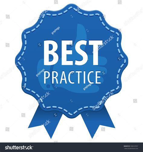 best image best practice blue label seam ribbons stock vector 330618767 shutterstock