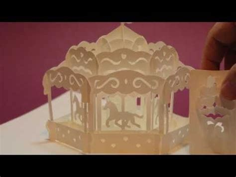 carousel pop up card template pdf your beginner s guide to pop up books and cards