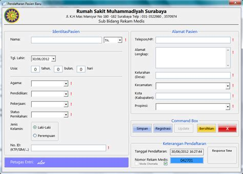 membuat aplikasi form sederhana di ms excel 1 membuat database sederhana dengan excel blog archives