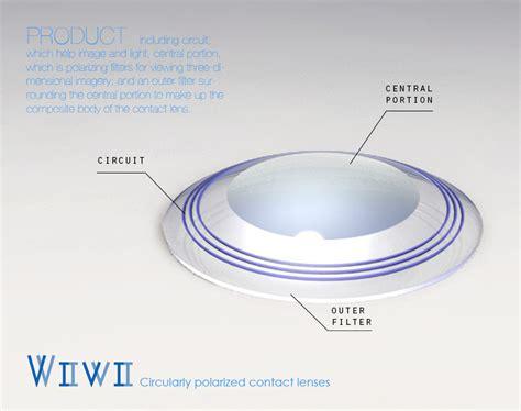 designboom contact vivi circularly polarized contact lenses designboom com