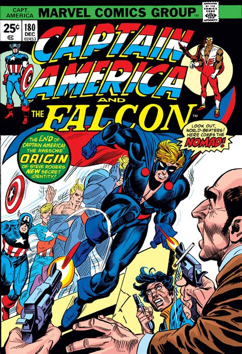 captain america vol 1 180 marvel database fandom