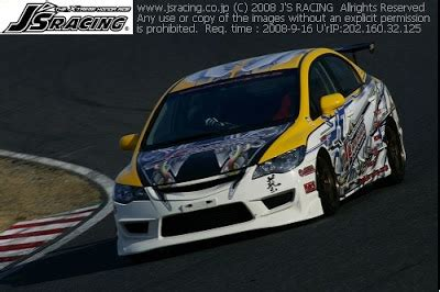 epicturez: civic fd2r j's racing track car