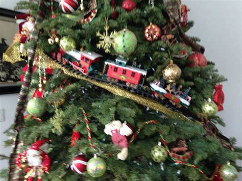 train christmas tree theme christmas pinterest trees