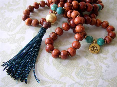 how to make mala for prayer make a tassel necklace with prayer rings and things