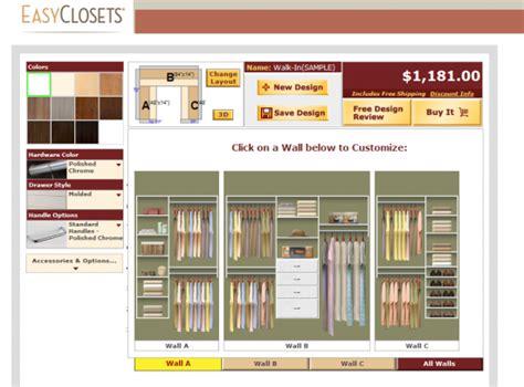 Free Closet Design by Free Diy Tools Home Construction Improvement
