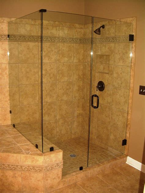 Bathroom Shower Idea Bathroom Shower Glass Tile Ideas Images