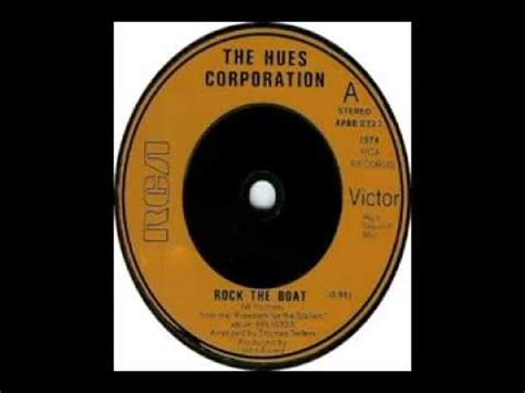 don rock the boat don tip the boat over lyrics hues corporation rock the boat 1974 youtube