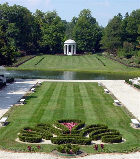 Nemours Gardens by Nemours Mansion Gardens